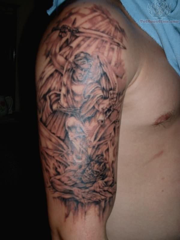 Satan tattoo images designs for Satanic tattoo designs