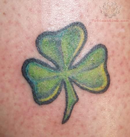Shamrock Tattoo Images & Designs