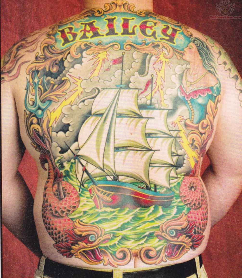 Ship Tattoo Images Amp Designs