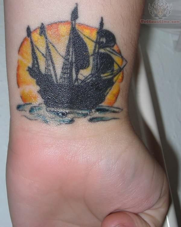 Ship Tattoo Small: My Small Ship Tattoo