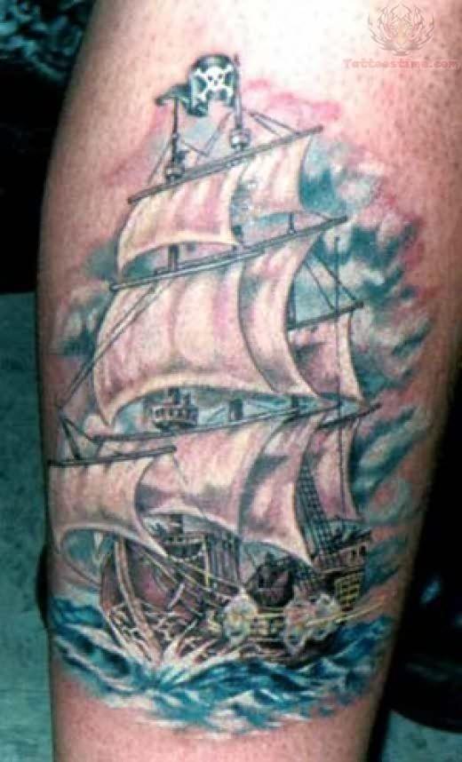 ship tattoo images designs. Black Bedroom Furniture Sets. Home Design Ideas