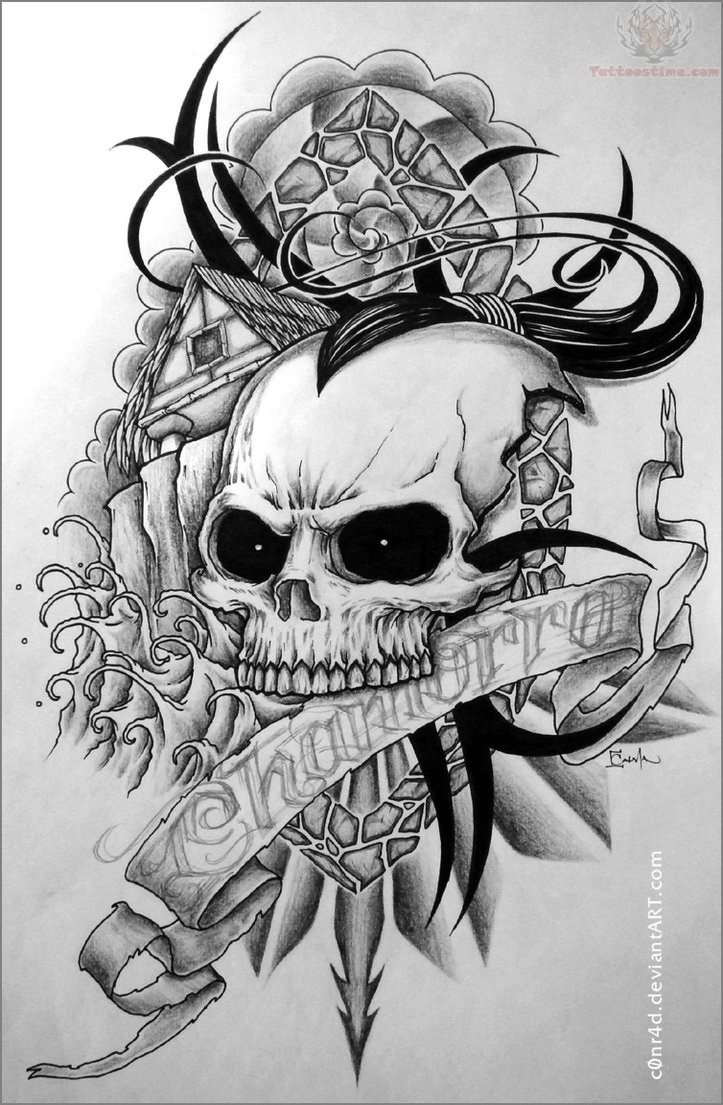 View More: Skull Tattoos