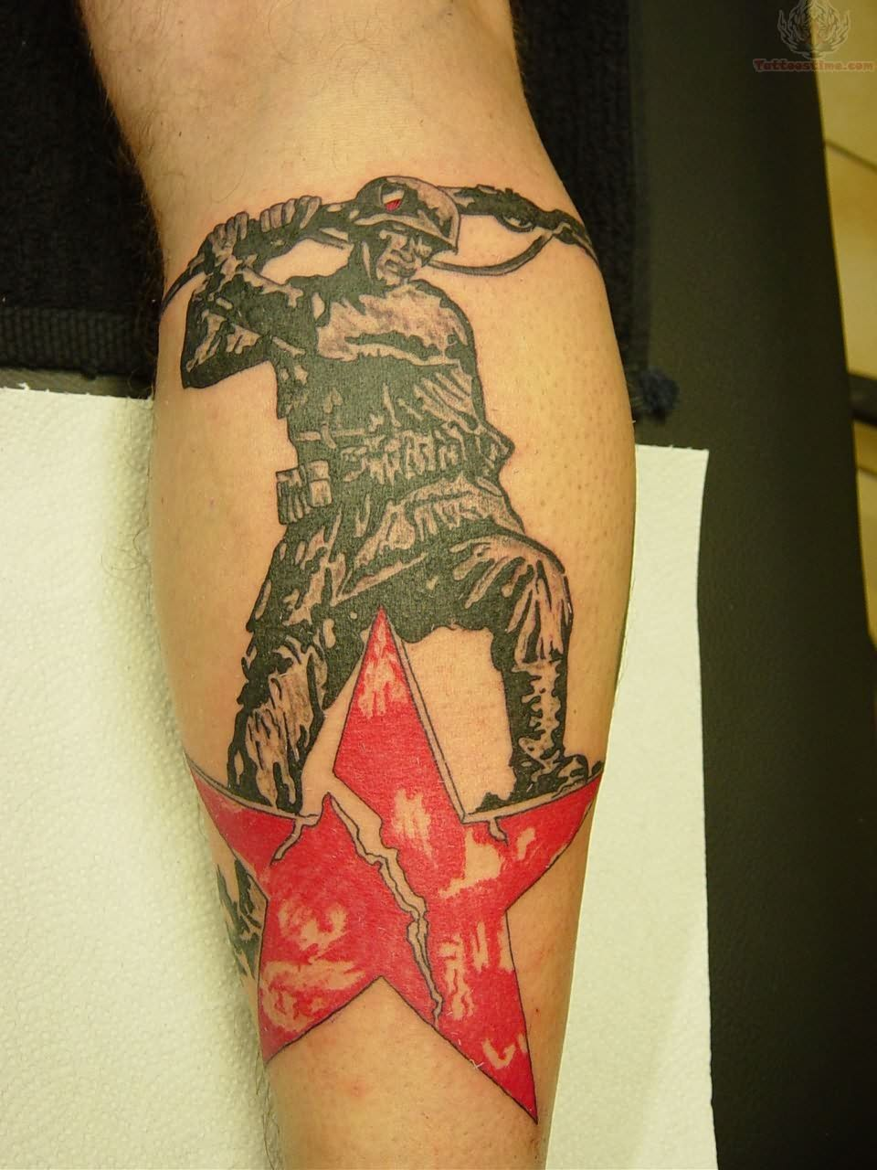 German Soldier Tattoo