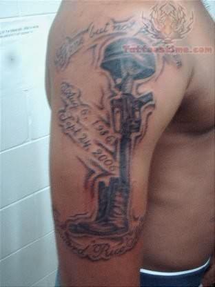 Soldier Eqipments Tattoo
