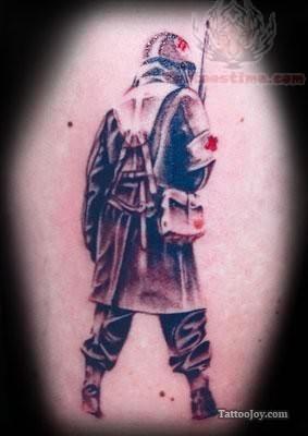 Soldier Full Tattoo