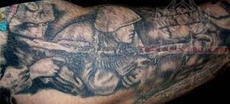 Soldier Tattoo Image