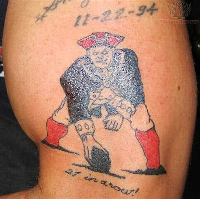 Sports Player Tattoo