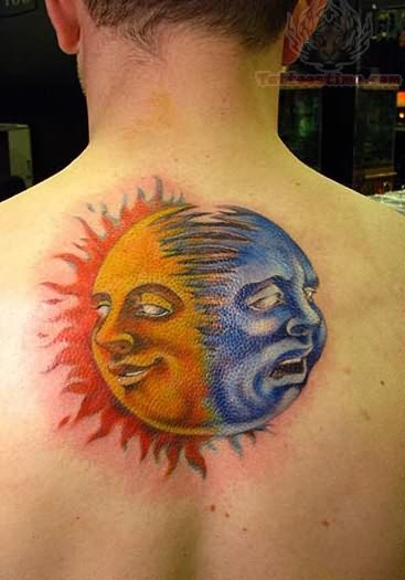 Sun tattoos page 13 for Sun moon tattoo