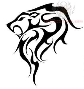 leo tattoo designs on Leo Zodiac Symbol Tattoo Design