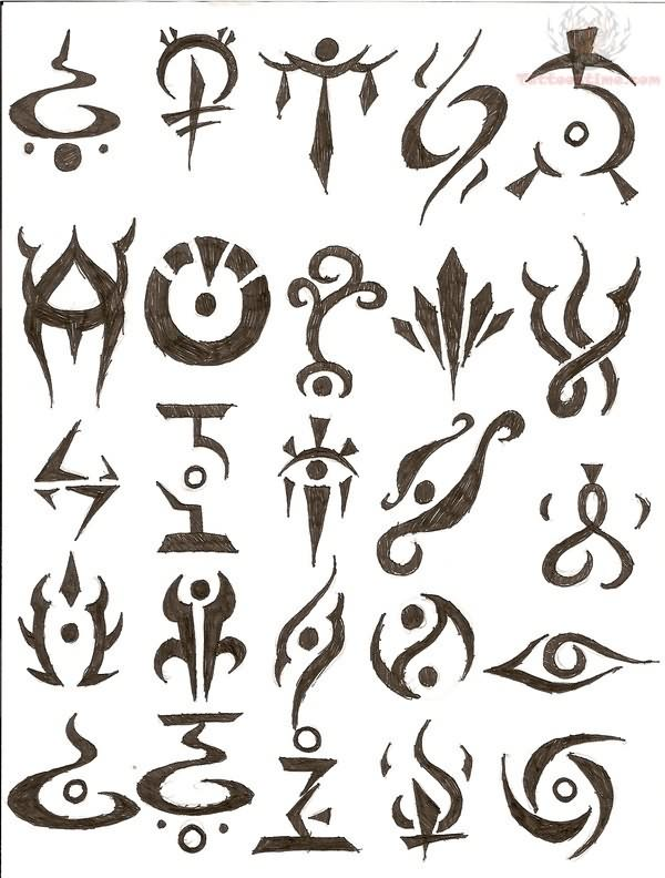 Symbol Tattoos Art