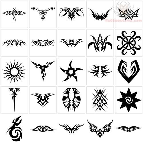 Tribal Tattoo Symbol: Symbol Tattoo Images & Designs