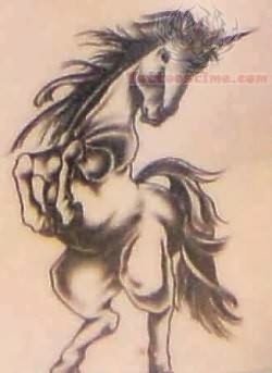 Cool Unicorn Tattoo Image