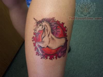Unicorn Tattoos Zodiac Tattoo Design