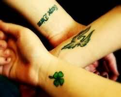 Wrists Clover Tattoos