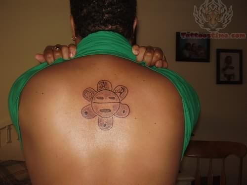 Backpiece Taino Sun Tattoo
