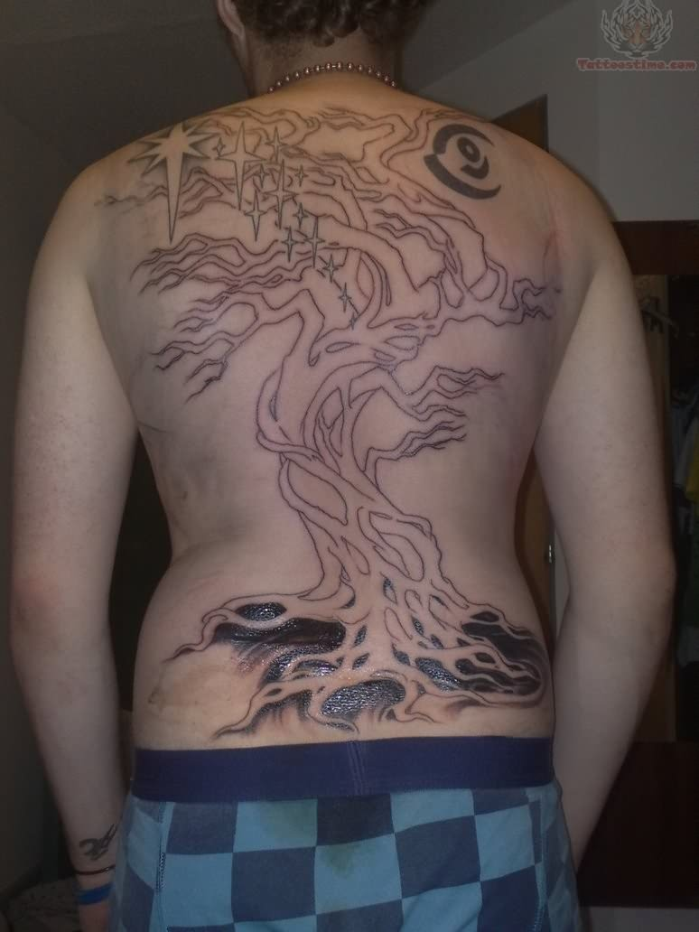 Tree tattoos jan 09 2013 17 13 35 picture gallery for Tree back tattoo