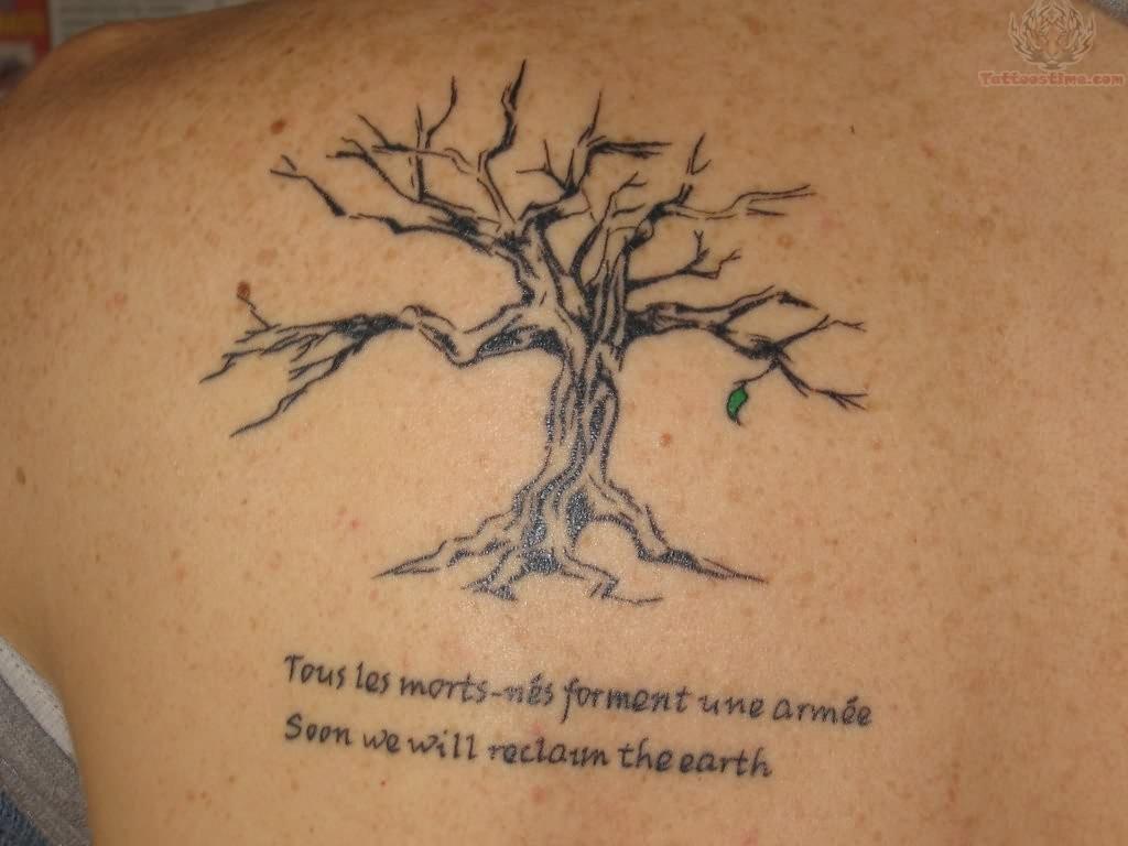 Tree Shoulder Tattoo