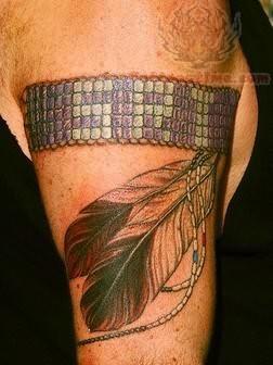 Indian Tribal Band Tattoo Tribal Band Tattoo Design On