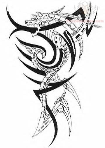 tribal zodiac tattoo design. Black Bedroom Furniture Sets. Home Design Ideas