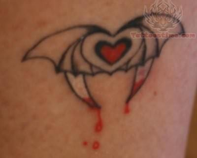 Little Vampire Tattoo