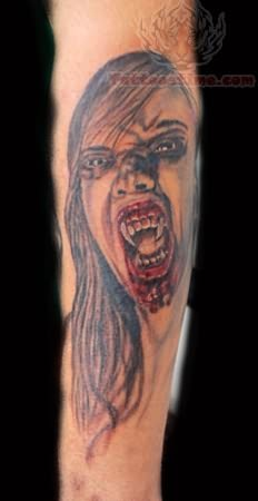 Ryan Vampire Tattoo