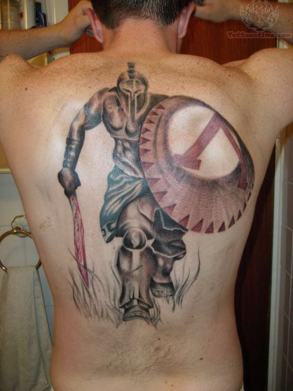 spartan warrior king tattoo. Black Bedroom Furniture Sets. Home Design Ideas