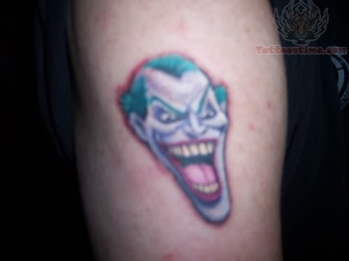 Vampire Joker Tattoo