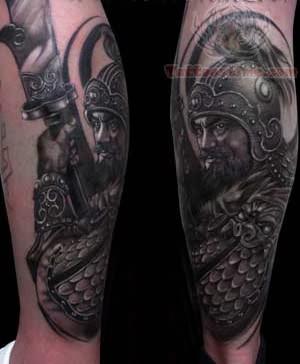 China Warrior Tattoos