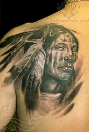 Warrior Tattoo Images & Designs