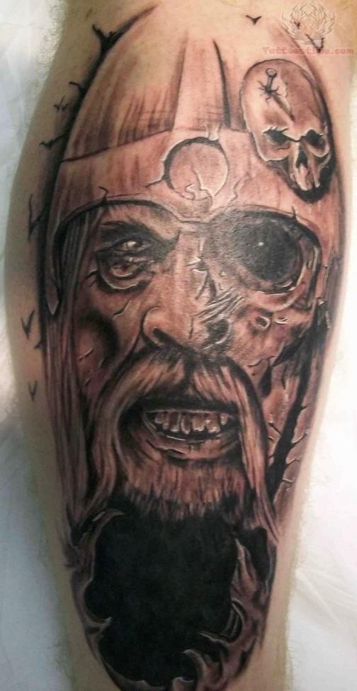 ... com img src... Viking Warrior Tattoo Sleeve