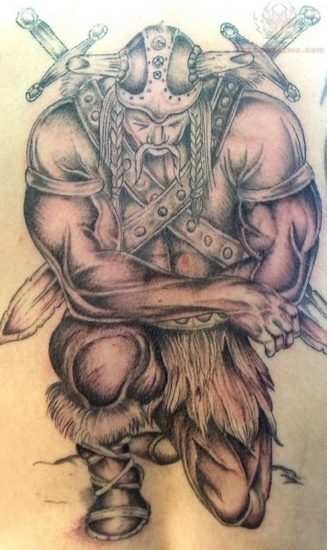 Viking Warrior Tattoo Designs