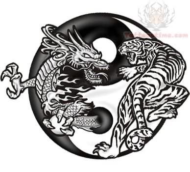Yin yang pisces tattoo design sample ying yang tattoo design sample sciox Gallery