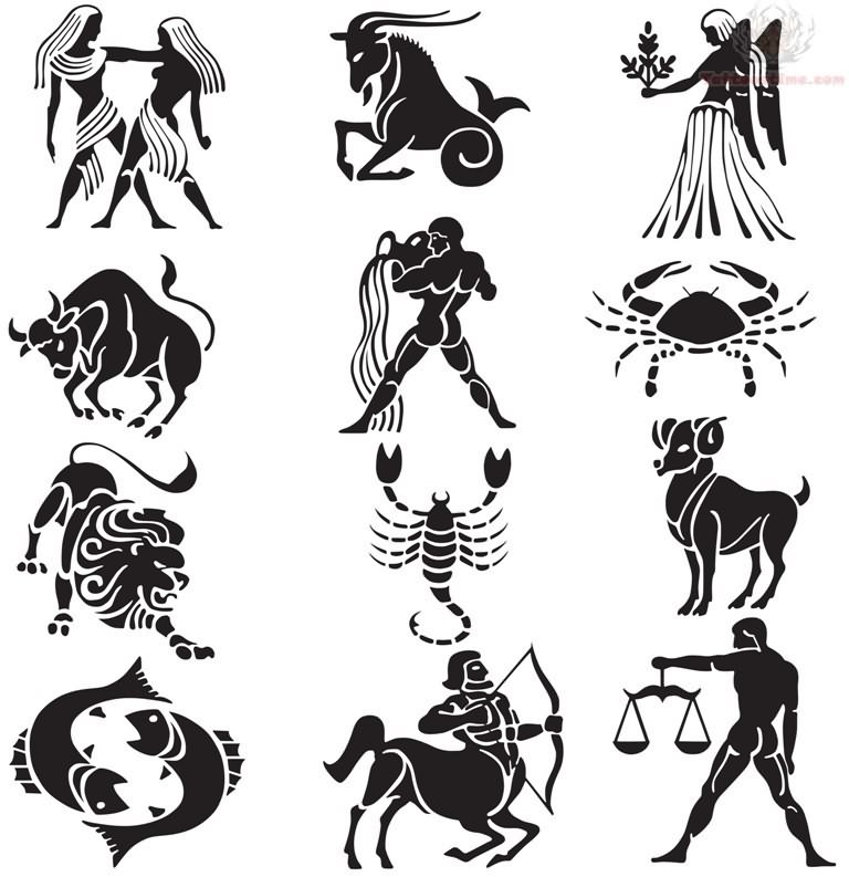 Zodiac Tattoos Designs