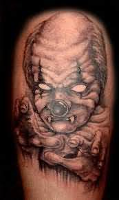 Clown Action Tattoo