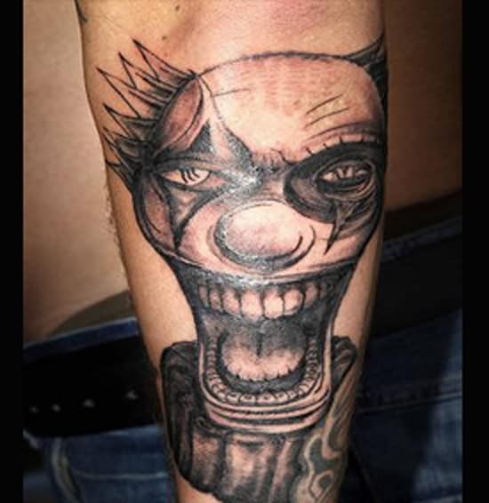 Clown tattoos designs ideas page 12 for Clown tattoos for men