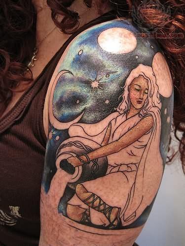 Zodiac Tattoo Designs – Aquarius