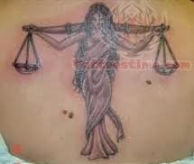 Libra Tattoo For Back Body