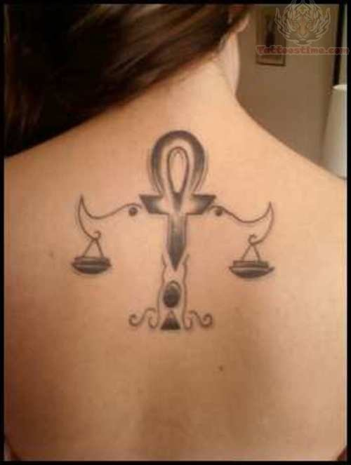 Libra Tattoo Images Amp Designs