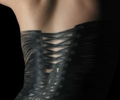 Corset Tattoo For Back COver