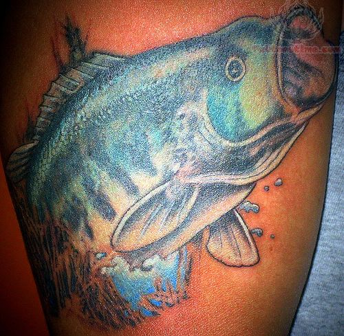 Blue Fish Tattoo