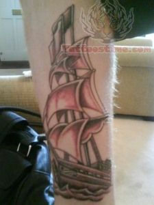Boat Tattoo Picture