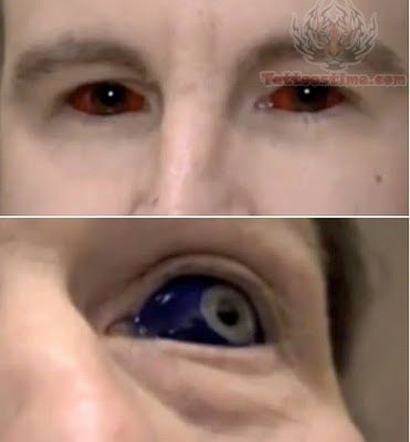 Craziest Colored Eye Tattoos