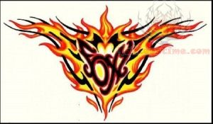 Flame Tattoo Sample