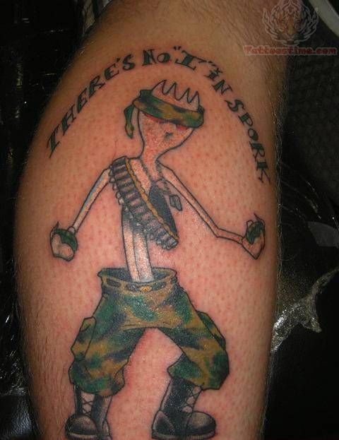 Funny Tattoo For Men