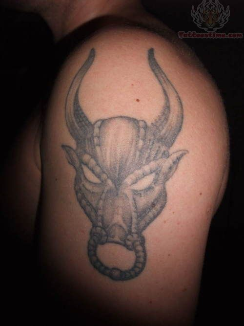 Taurus tattoos designs ideas for Taurus horoscope tattoos