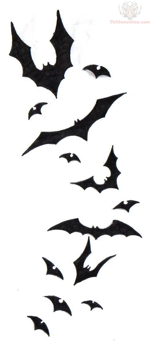 Bat Tattoos Designs