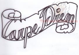 Simple Banner Tattoo Sample