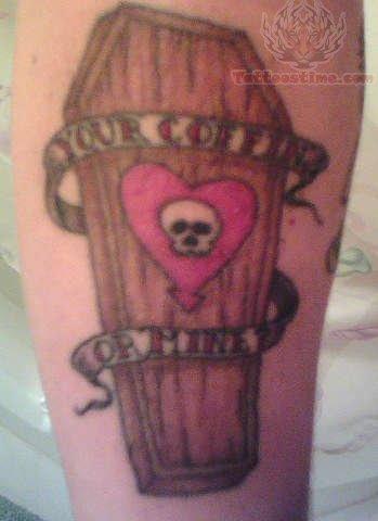 Alkaline Trio Coffin Tattoo