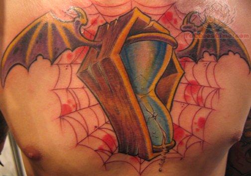 Bat Heart Tattoo Bat Wings Coffin Tattoo