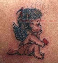 Angel And Cherub Tattoos